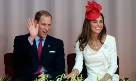 Prince William waves during Canada Day celebrations