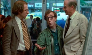 Marshall McLuhan backs up Woody Allen in the film Annie Hall.