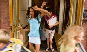 Are The School Summer Holidays Just Too Long  Opinion  The Guardian Children Celebrate As Lessons End For Summer