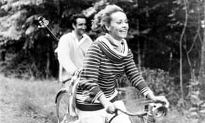 Jeanne Moreau in François Truffaut's 1962 film version of Jules et Jim
