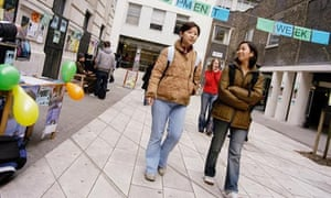 Students from Korea at the London School of Economics
