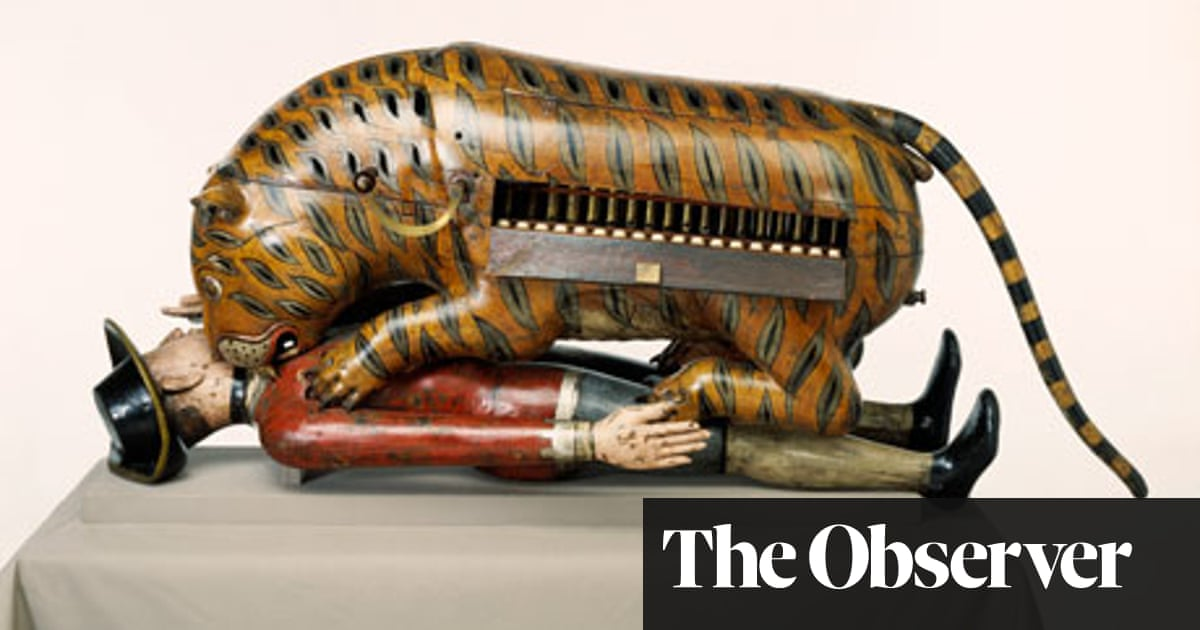 Tippoo Sultan's Incredible White-Man-Eating Tiger Toy