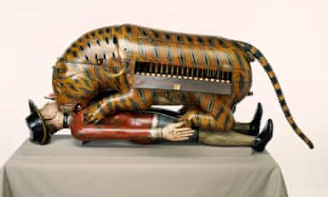 The 18th-century automaton that inspired Nagra's title poem.