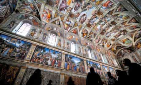 The Sistine Chapel, Vatican City.