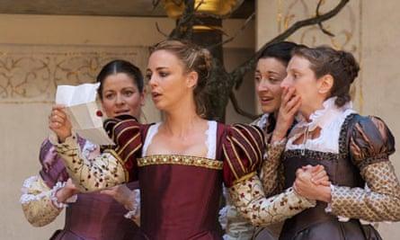 Anne Boleyn at the Globe