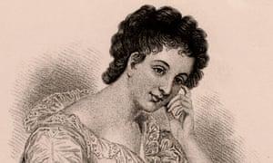 Maria Edgeworth: an engraving of the novelist