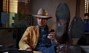 Timothy Olyphant as Raylan Givens in Justified
