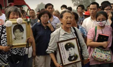 Wang Lihong supporters