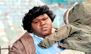 Precious (played by Gabourey Sidibe) and her son Abdul in the 2009 Ocsar-winning film.