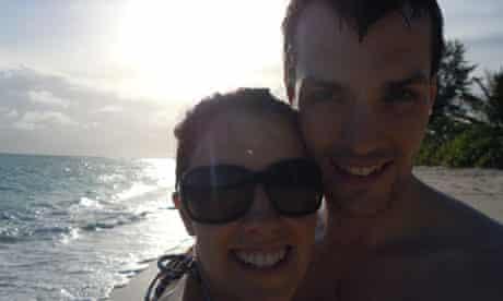 Seychelles shark victim Ian Redmond and wife Gemma