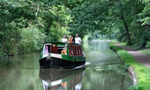 A narrowboat on the Oxford Canal
