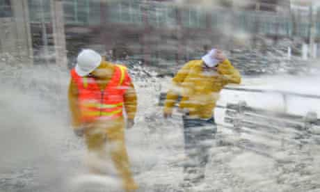 Hurricane Irene: New Jersey safety inspectors