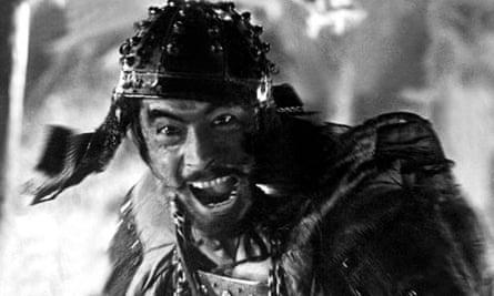VARIOUS SAMURAI FILM STILLS