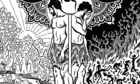 detail of illustration from Habibi
