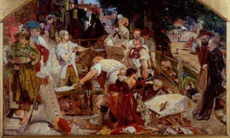 Detail of Work by Ford Madox Brown