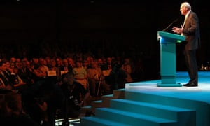 Vince Cable Speaks At The Liberal Democrat Party Conference