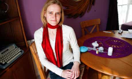 Portrait of cystic fibrosis sufferer Alix Stredwick