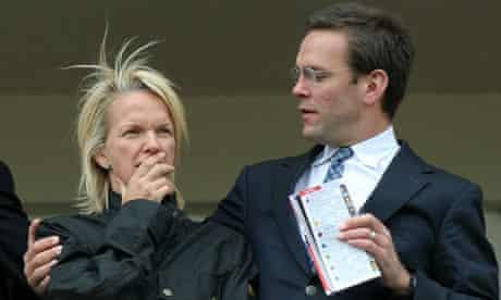 James Murdoch and sister Elisabeth