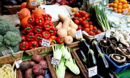 veg stall
