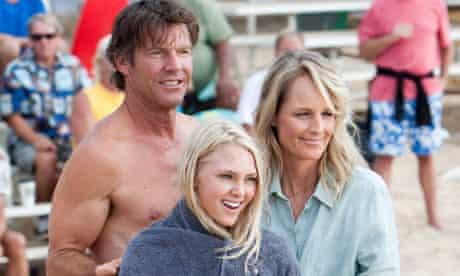 Dennis Quaid, Helen Hunt and AnnaSophia Robb in Soul Surfer.