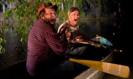 Tyler Labine and Alan Tudyk in Tucker & Dale vs Evil.