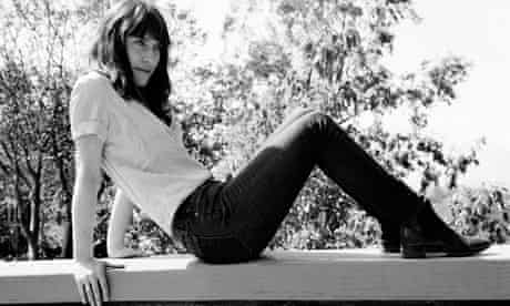 Feist photographed in black and white.