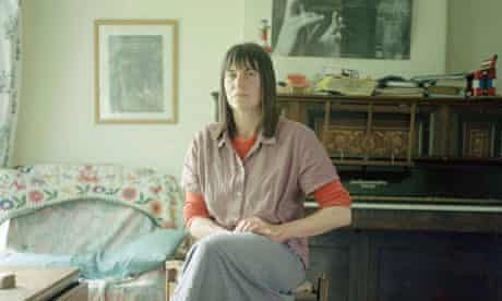 Alice Oswald pictured at home in Totnes.
