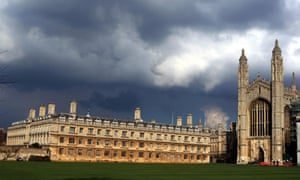 Cambridge University tops list