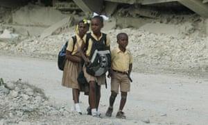Haitian earthquake two years on