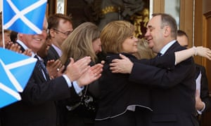 SNP Leader Alex Salmond Is Reelected As First Minister Of Scotland's First Majority Government