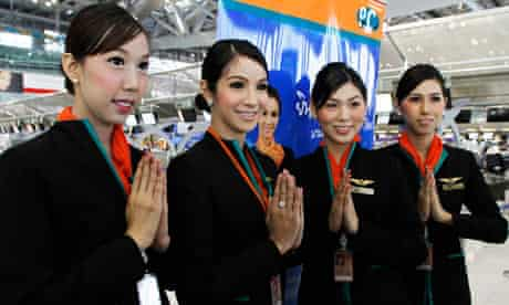 PC Air ladyboy trabbnssexual cabin crew