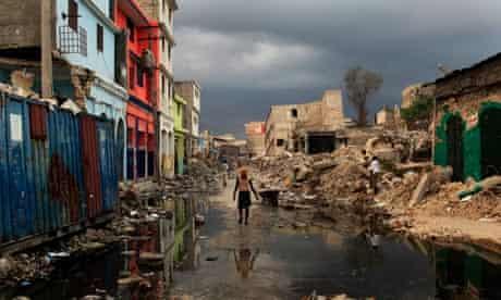 Port-au-Prince after the earthquake, Haiti