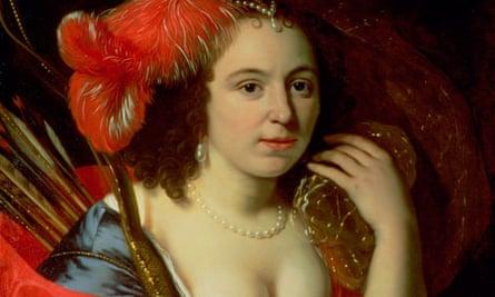 Granida by Bartholomeus van der Helst (1613-70).