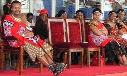 Swaziland king