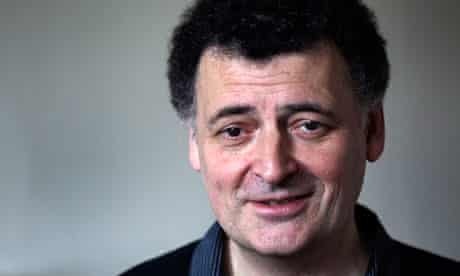 Steven Moffat, writer of Sherlock