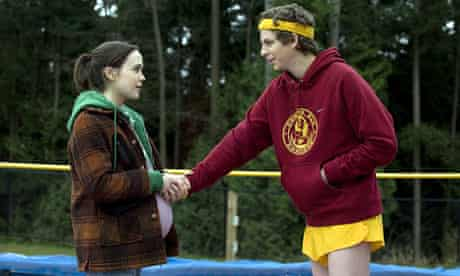 Ellen Page and Michael Cera in Juno