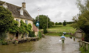 Floods in Oxfordshire, UK