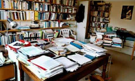 Eric Hobsbawm's writing room
