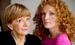 Anne Robinson and her daugther Emma Wilson