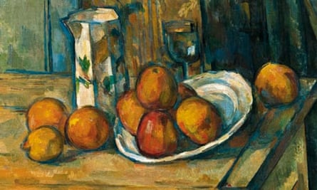 Still Life with Milk Jug and Fruit (c 1900), oil on canvas