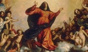 Assumption by Titian, Frari venice