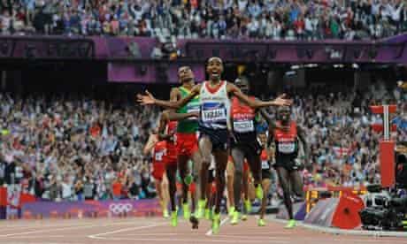 mo farah olympics london 2012