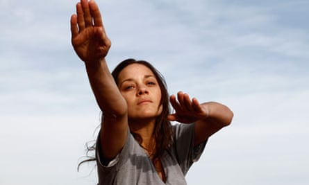 Marion Cotillard in the film Rust and Bone.