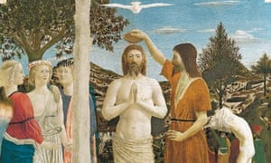 Piero Della Francesca's Baptism of Christ