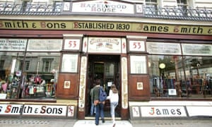 James Smith & Sons in New Oxford Street