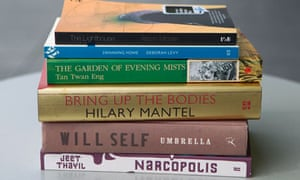 The six titles in contention for this year's Man Booker prize
