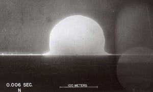First Nuclear Test 0.006 Sec