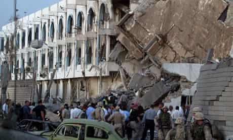 Baghdad hotel bombed, 2003