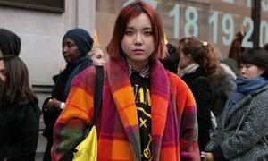 Jayne Yoo at Margiela for H&M