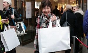 Fenella Crichton at Margiela for H&M